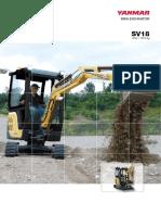 Catalog Excavator SV18 0415