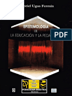 Epistemología de La Educación y La Pedagogía (1)