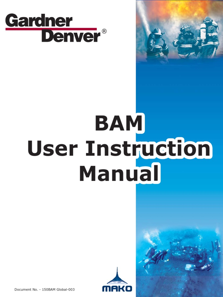 BAM User Manual | Safety | Electrician Mako Air Compressor Wiring Diagram on