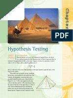 Hypothesis Testing - LaroseCh9