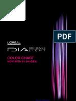 Loreal Professionnel Dia Color Chart