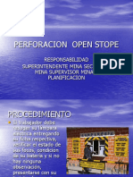 Presentecion Perforacion Rajos Open Stope.