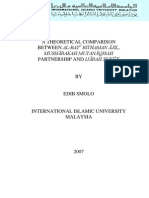 A Theoretical Comparison Between Al-bay_ Bithaman _ajil_ Musharakah Mutanaqisah Partnership and Ijarah Sukuk by Edib Smolo