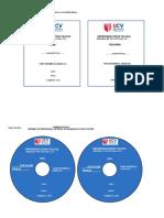 Rotulo de CD de Investigación Formativa y Fin de Carrera