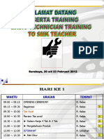 Jadwal Bmt to Teacher Smk