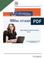 4. REGLAMENTO INSTITUCIONAL  2016 STANFORD.pdf