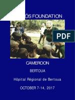 Humanitarian Trip Cameroon 2017