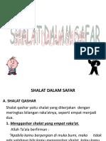 Shalat Jama' Dan Qashar