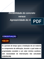 Durabilidade Do Concreto vs Agressividade Do Meio (1)