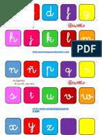 Abecedario Consonantes y Vocales