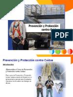 Prevencion y Proteccion Contra Caidas