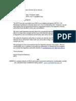 El mail de la OMC que alerta sobre la censura a ONG