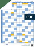 2017-2018 Calendario Escolar Mapa
