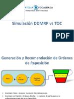 Simulacion DDMRP vs TOC