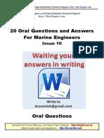 Part10 Q a Marine Engineer