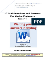 Part11 Q a Marine Engineer