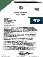Senator Stump's Letter