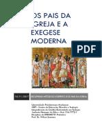 Os Pais Da Igreja e a Exegese Moderna_Jouberto Heringer