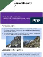 Geomorfología Glaciar y Periglaciar