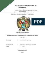 Informe de Analisis Finanaciero