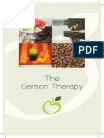 Gerson Therapy Brochure