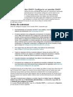 Función de Servidor DHCP