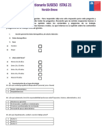 Cuestionario ISTAS -21