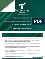 ENCUESTA TENDENCIAS NOV17