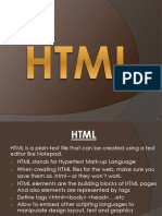 Lecture 2A HTML