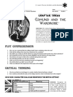 the lion the witch and the wardrobe - chapter 3 - review questions  pdf