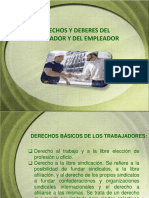 Obligaciones y Derechos de Los Trabajadores
