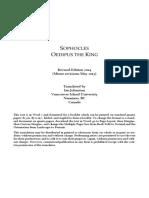 Pdf king oedipus the
