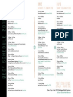 Thriive Qec Flyer Schedule