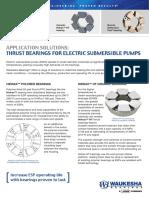 Waukesha Bearings_Thrust Bearings for ESPs_A4