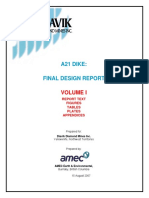 A21 Dike Design Report _ Aug 07 _ v1