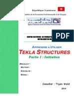 Apprendre a Utiliser Tekla Structures_partie 1 Initiation