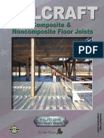 Composite and Noncomposite Floor Joists