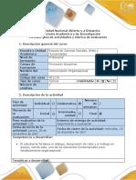 Guía Evaluación Final y Rúbrica de Evaluación - Fase 5 - Realizar Audiovisual Presentando Diagnóstico de La Organización Escogida Por El Grupo