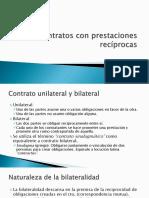 (7) Contratos Con Prestaciones Recíprocas