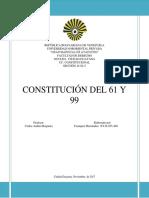 Constituciones Venezolanas de Los Años