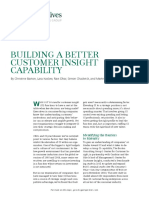 BCG Building better customer insight
