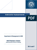 Enterprise Management BSACF Sana