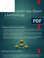 Capitulo 8 Planificacion Top Down Bottom Up