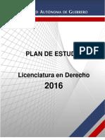 Plan de Estudios 2016