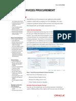 Oracle Services Procurement