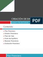 Unidad II. Plan de Finanzas.pptx