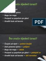 Frazemi obrada 8. razred hrvatski jezik