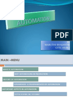 Automations in Toolings