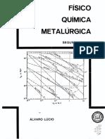 Físico Química metalúrgica - Álvaro Lúcio Vol 2.pdf