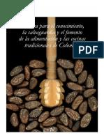BBCTC, Tomo 17. Política Para El Conocimiento, La Salvaguardia y El Fomento de La Alimentación y Las Cocinas Tradicionales